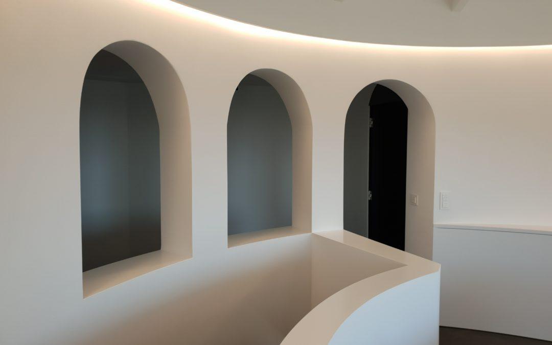 Villa privée – linéaire sur-mesure