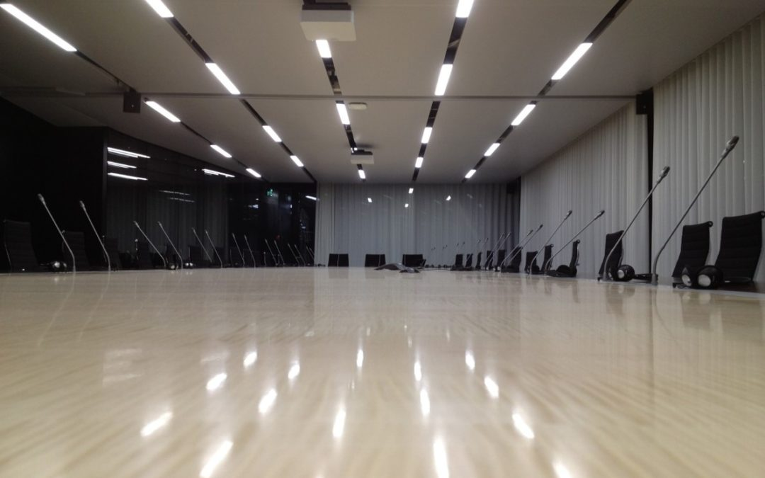 FIBA Mies – Luminaires sur-mesures