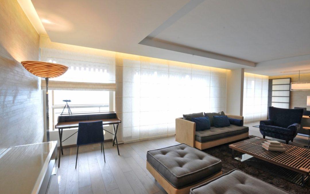 Appartement Montreux – Luminaires standards et sur-mesures