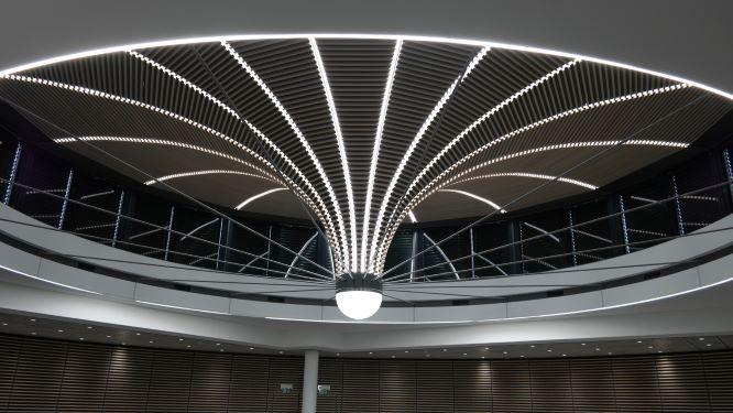 UBS Renens – éclairage linéaire et modification