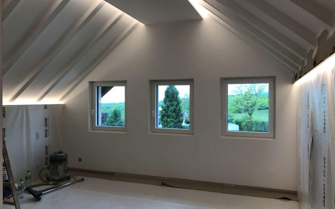 Villa privée – éclairage linéaire