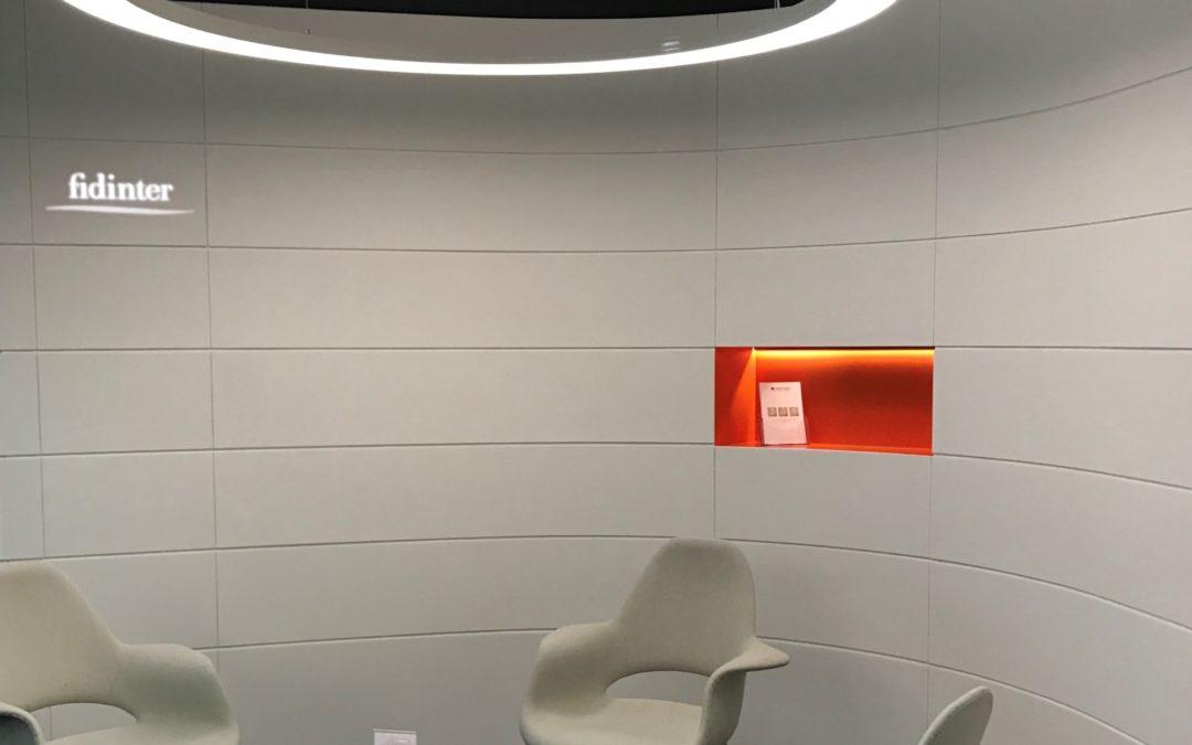 Luminaire en toile Tendue – Fidinter SA